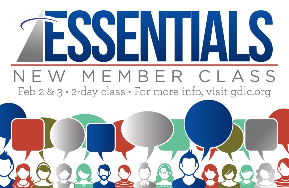 Essentials New Member Class - February 2 & 3