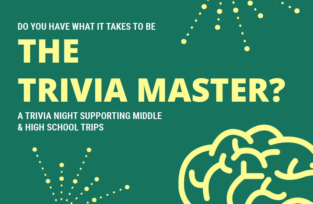 Trivia Night Supporting Student Missions