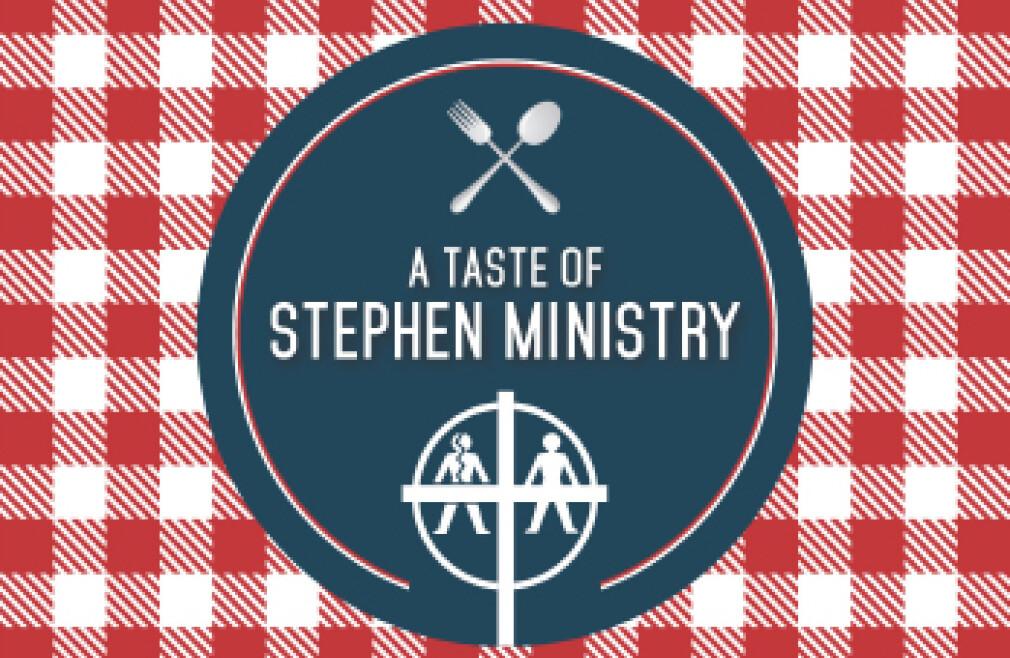 Taste of Stephen Ministry