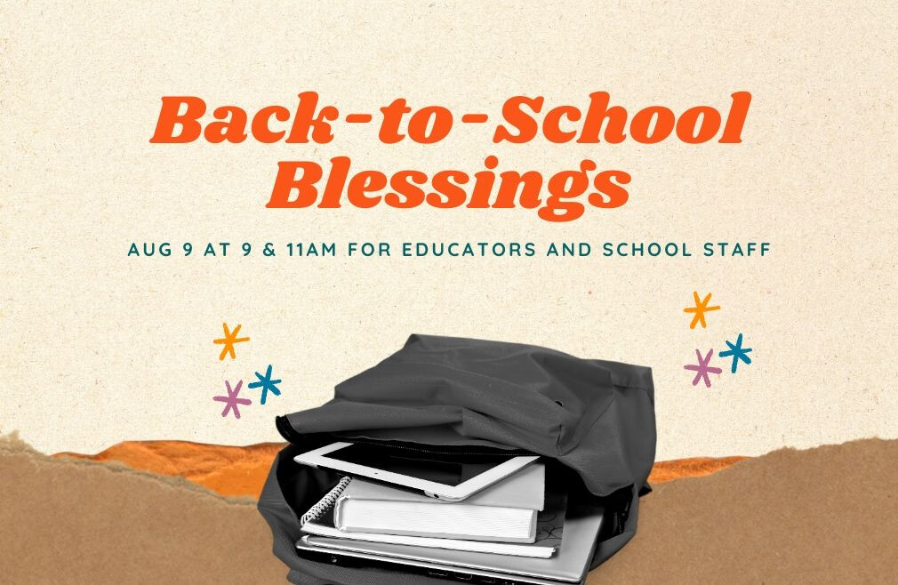 Back-to-School Blessings